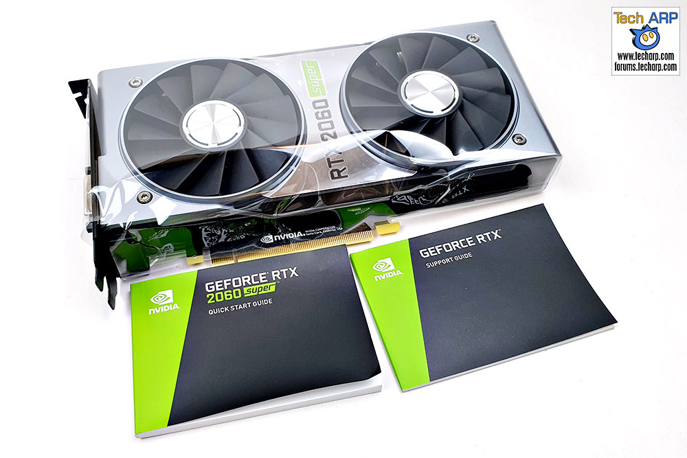 NVIDIA GeForce RTX 2060 SUPER box contents