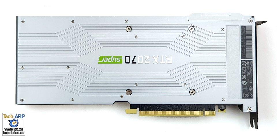 NVIDIA GeForce RTX 2070 SUPER card back