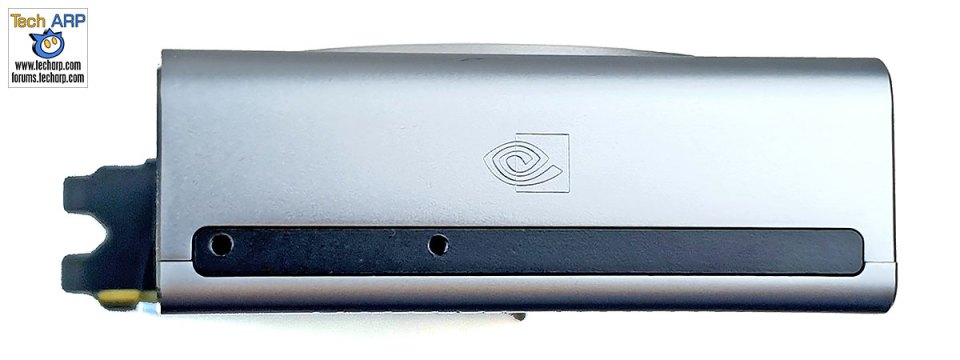 NVIDIA GeForce RTX 2070 SUPER card left