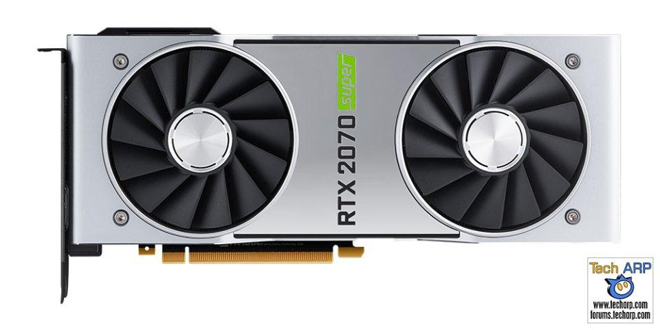 NVIDIA GeForce RTX 2070 SUPER comparison front