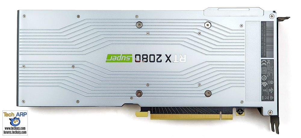 NVIDIA GeForce RTX 2080 SUPER back