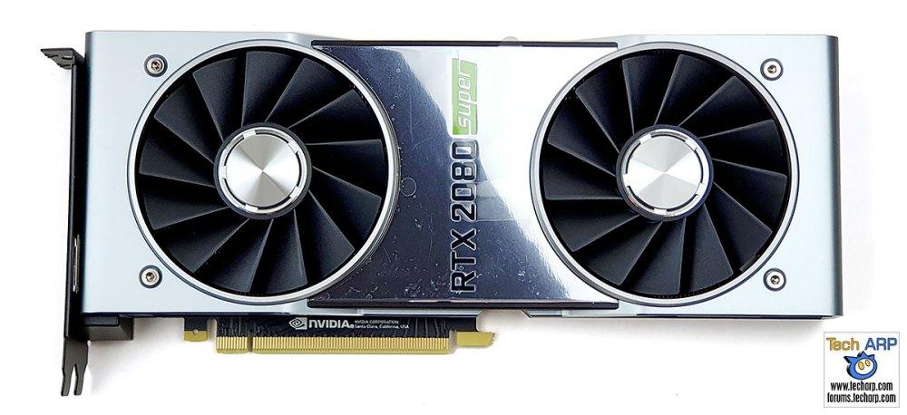 NVIDIA GeForce RTX 2080 SUPER front