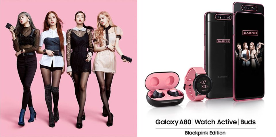 Samsung Galaxy A80 | Watch Active | Buds BLACKPINK Edition Is Here!