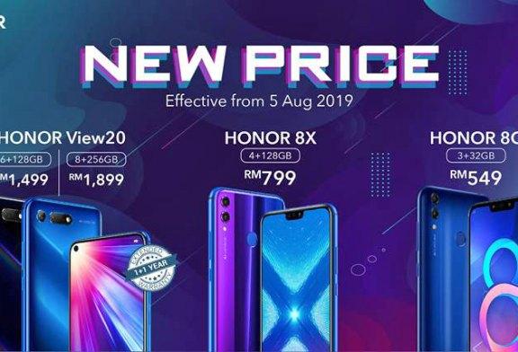 HONOR Malaysia Announces More Price Cuts + Warranty!