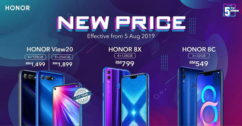 HONOR Malaysia Announces More Price Cuts!