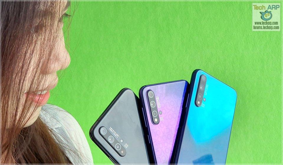 The HUAWEI nova 5T 5-Camera Smartphone Preview!