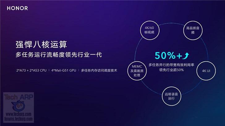 Honghu 818 CPU and GPU performance