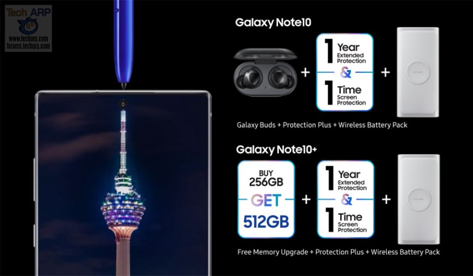 Galaxy Note 10 PREORDER Promo + Details For Malaysia!