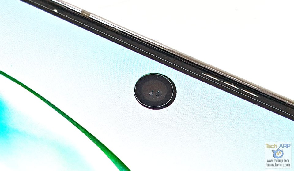 Samsung Galaxy Note 10 Plus front camera
