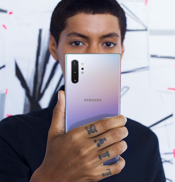 Samsung Galaxy Note 10 face recognition
