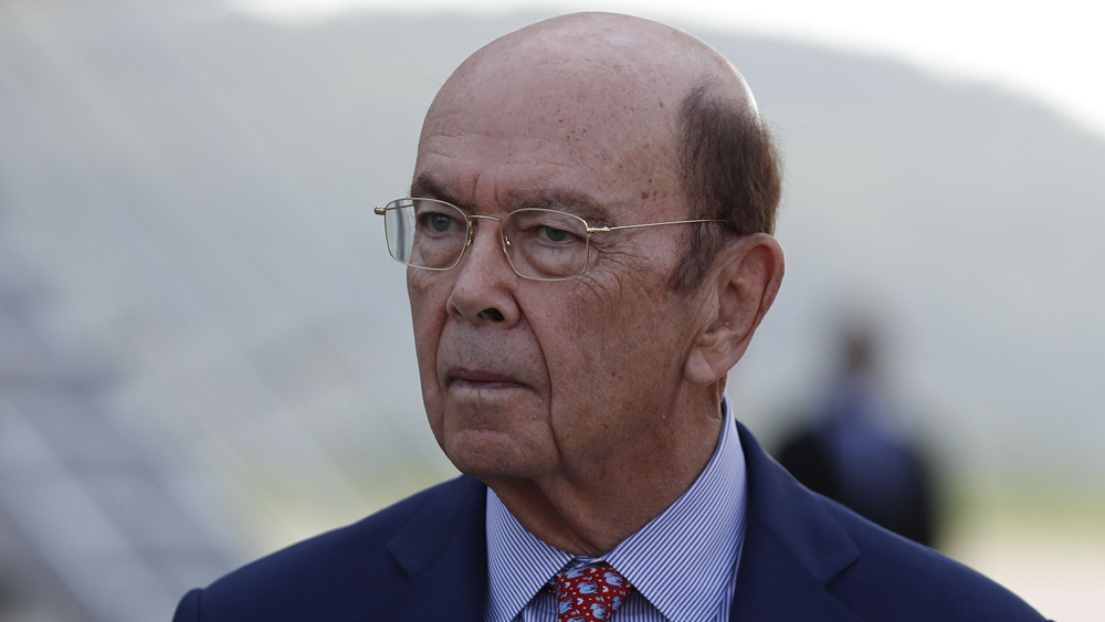 Wilbur Ross US Commerce Secretary