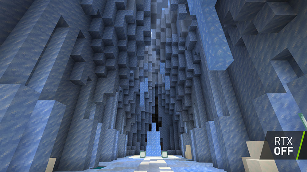 Minecraft Ray Tracing off