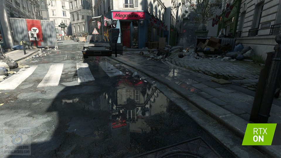 Wolfenstein Youngblood ray tracing comparison