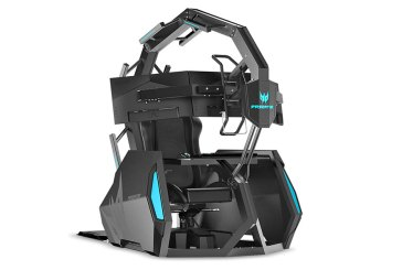 The Acer Predator Thronos Air Gaming Cockpit Revealed!