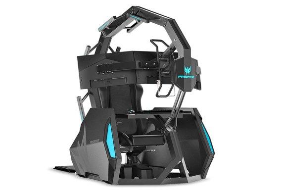 The Acer Predator Thronos Air Gaming Cockpit Revealed!