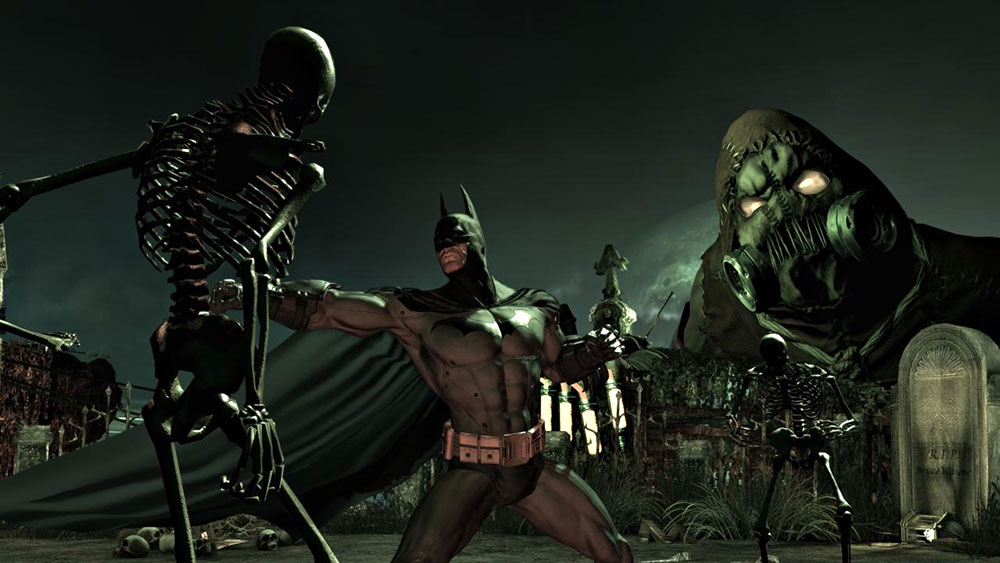 Batman Arkham Asylum free game