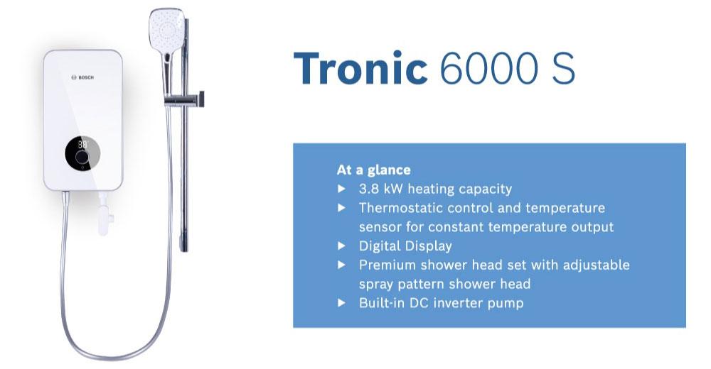 Bosch Tronic 6000 S