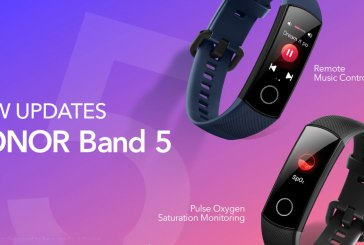 HONOR Band 5 To Add SpO2 + Remote Music Control!