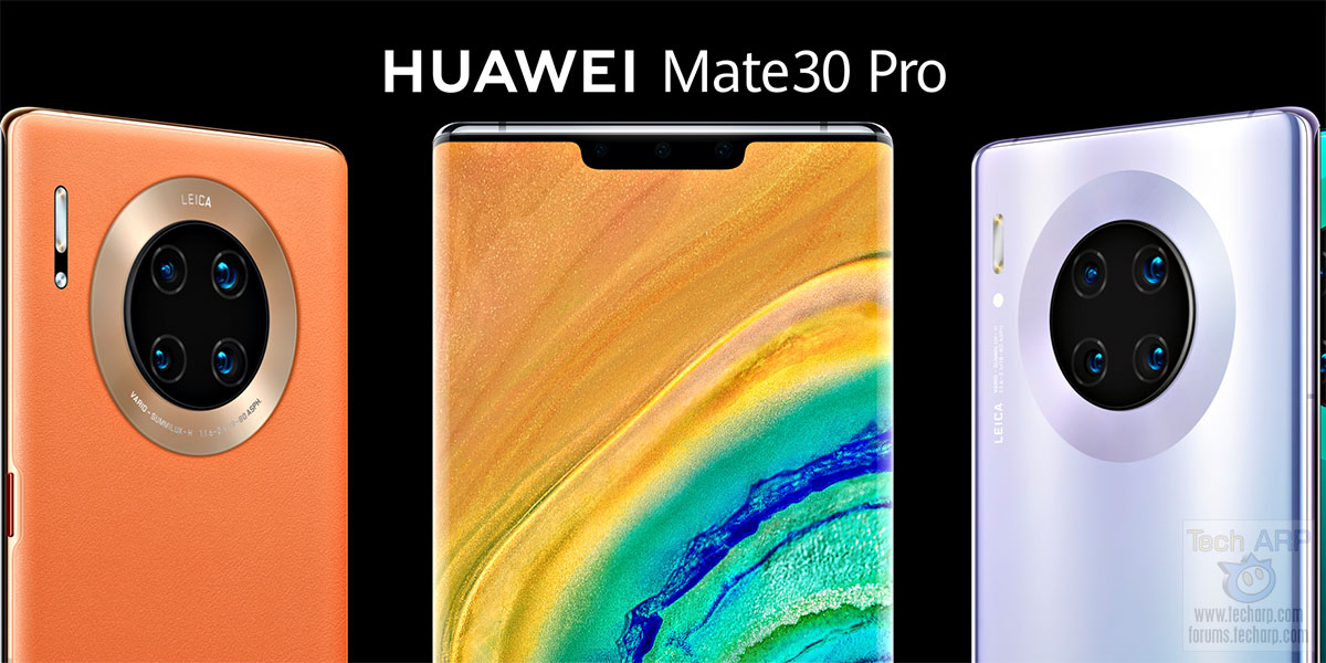 HUAWEI Mate 30 Pro – 4G vs 5G Price + Specifications!