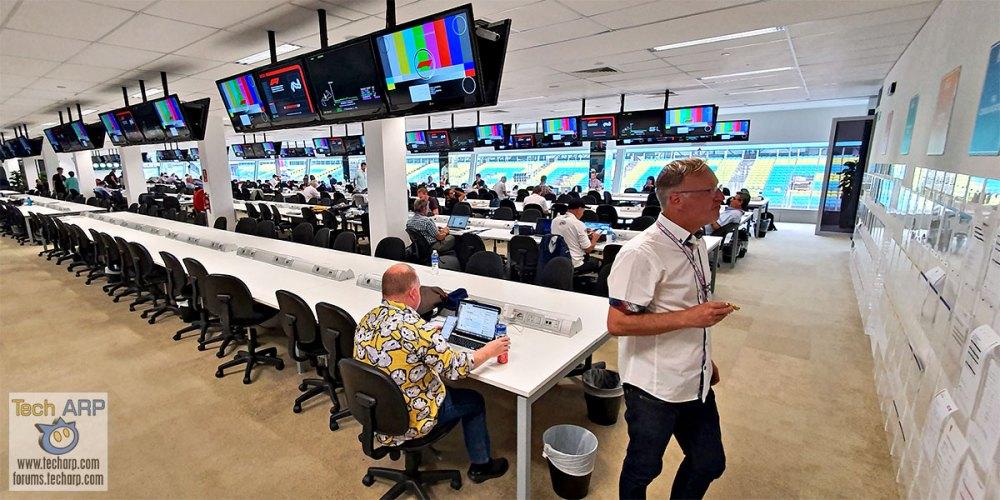 Singapore Grand Prix Media Centre