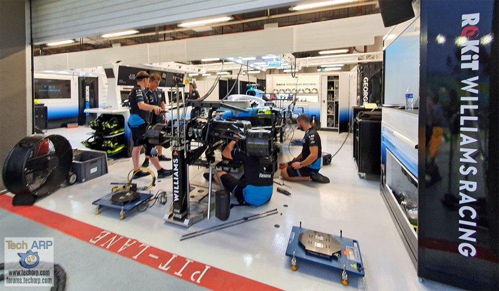 Williams F1 Garage