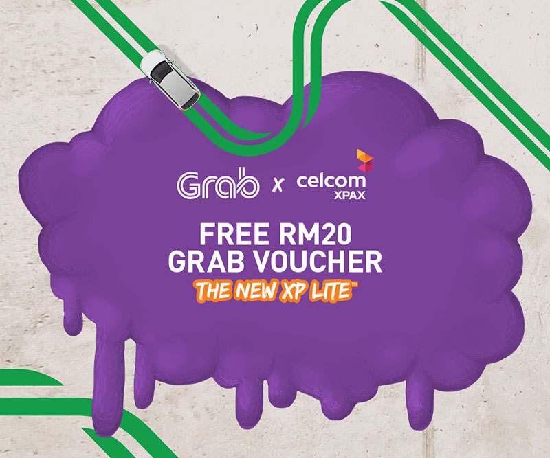 Grab voucher for XP Lite postpaid plan