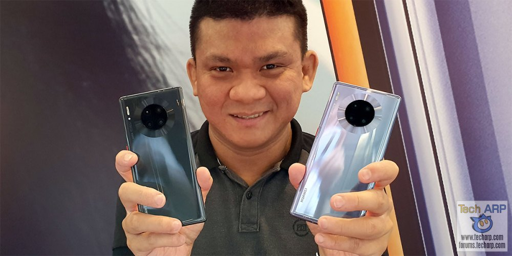 HUAWEI Mate 30 + Mate 30 Pro Colour Comparison!