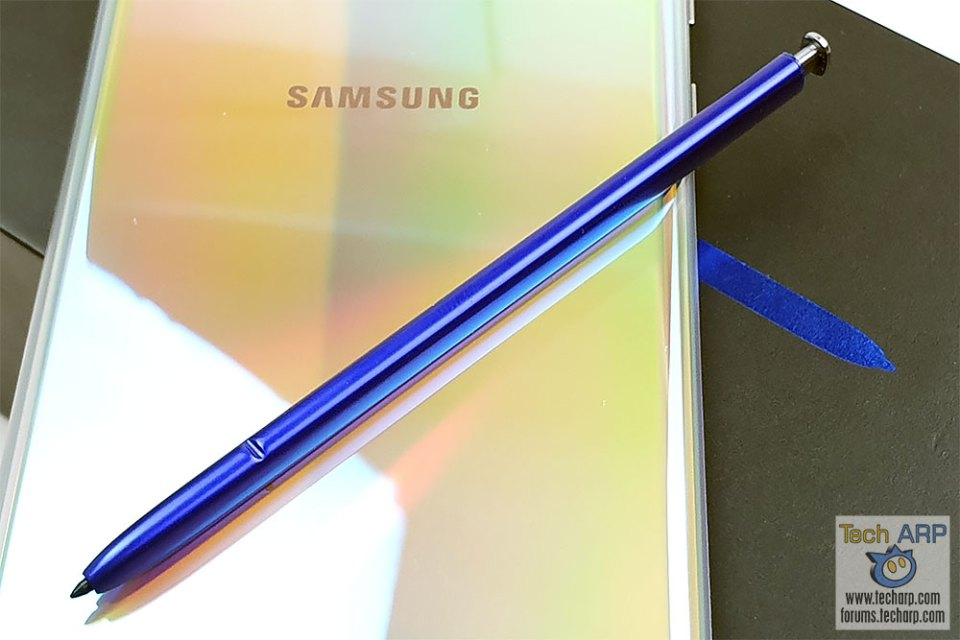 Samsung Galaxy Note 10 Plus S Pen out
