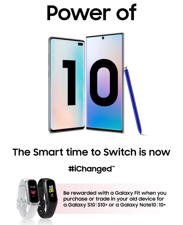 Samsung Smart Time To Change offer