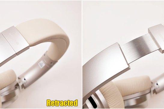 Edifier W860NB Gold headband extension