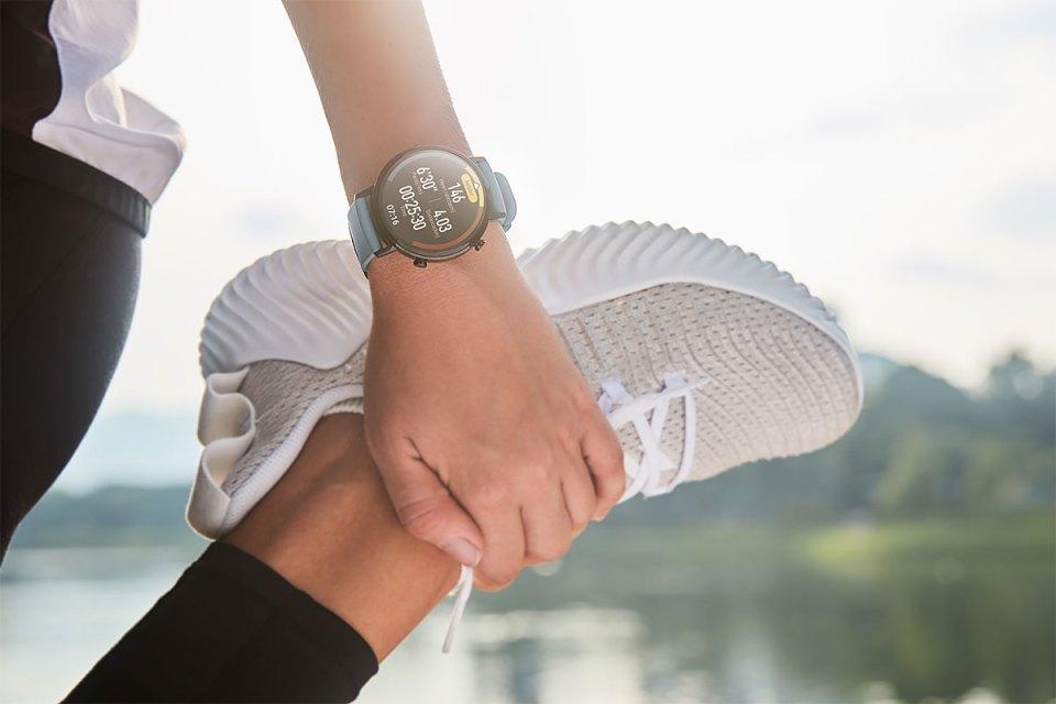 HUAWEI Watch GT 2 jogging