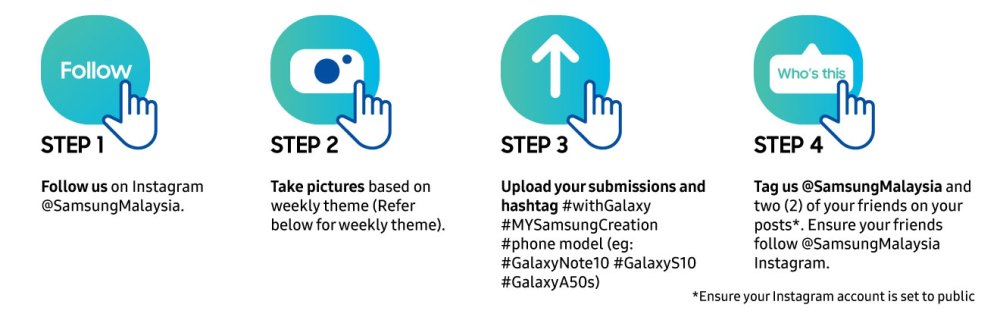My Samsung Creation contest steps