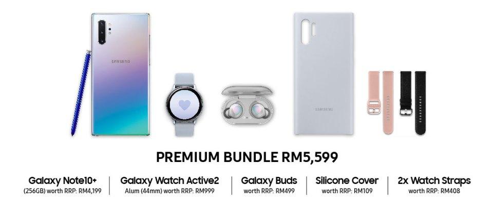 Samsung Galaxy Note 10 Plus Premium Bundle
