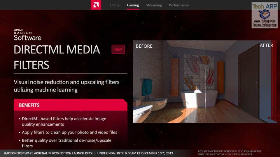 AMD Radeon Software Adrenalin 2020 Edition slide 22
