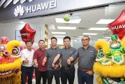 First HUAWEI Malaysia Premium Customer Service Center!