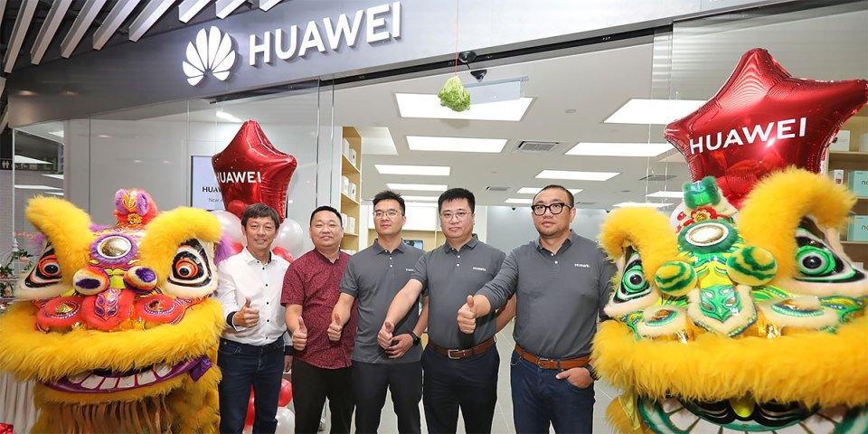 First HUAWEI Malaysia Premium Customer Service Center!