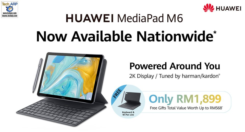 HUAWEI MediaPad M6 price + deal