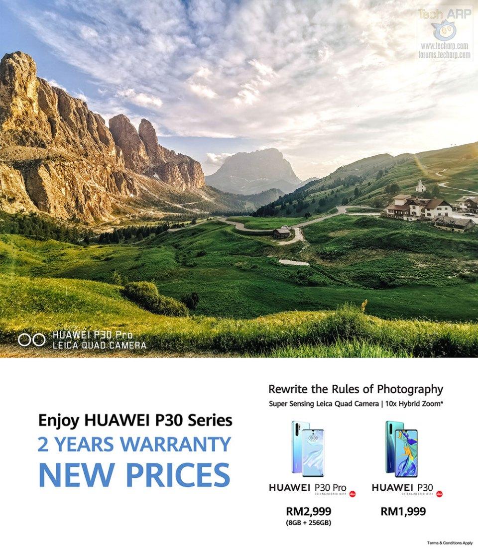 HUAWEI Announces MAJOR P30 + P30 Pro Price Cuts!