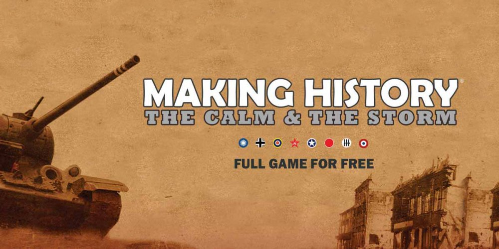 Making History : Get This WWII Game For FREE!