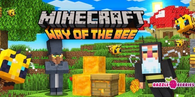 Minecraft Gets FREE Way of the Bee Map!