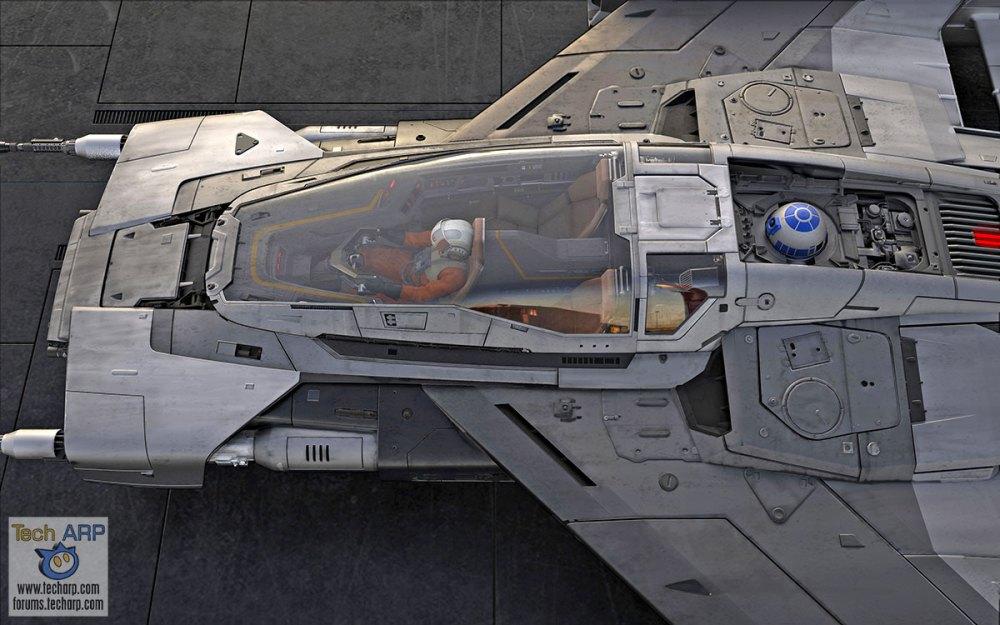 Porsche Tri-Wing S-91x Pegasus Starfighter Revealed!