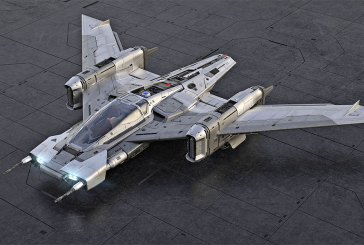 Porsche Tri-Wing S-91x Pegasus Starfighter Revealed!
