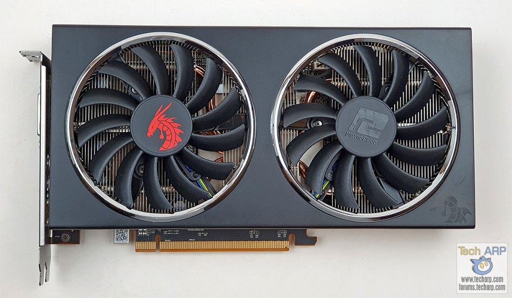 PowerColor RX 5500 XT front