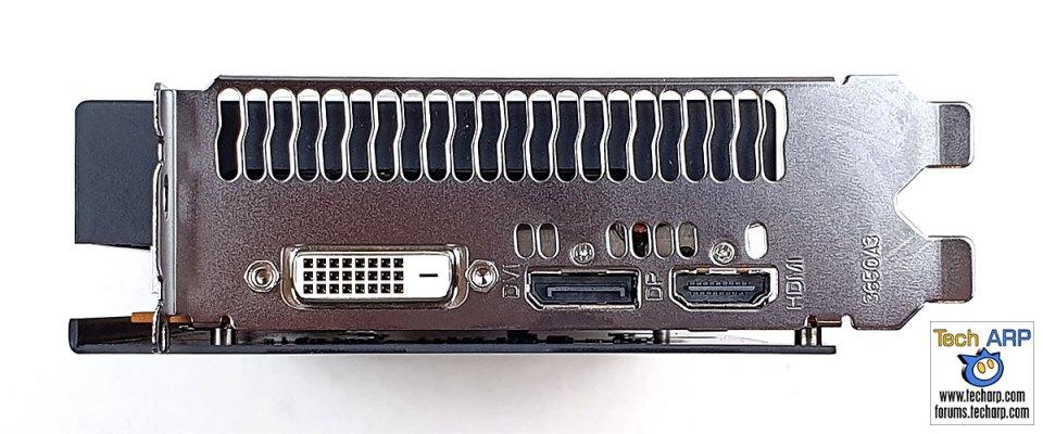 PowerColor RX 5500 XT left
