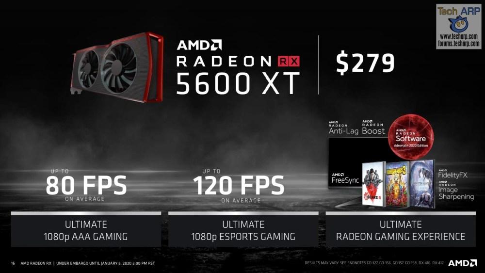AMD Radeon RX 5600 XT slide 12