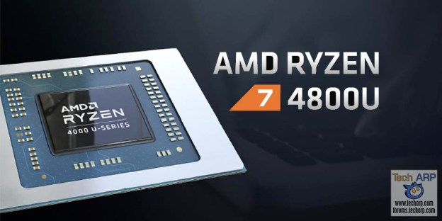 AMD Ryzen 7 4800U : 8C/16T Mobile APU @ Just 15W!