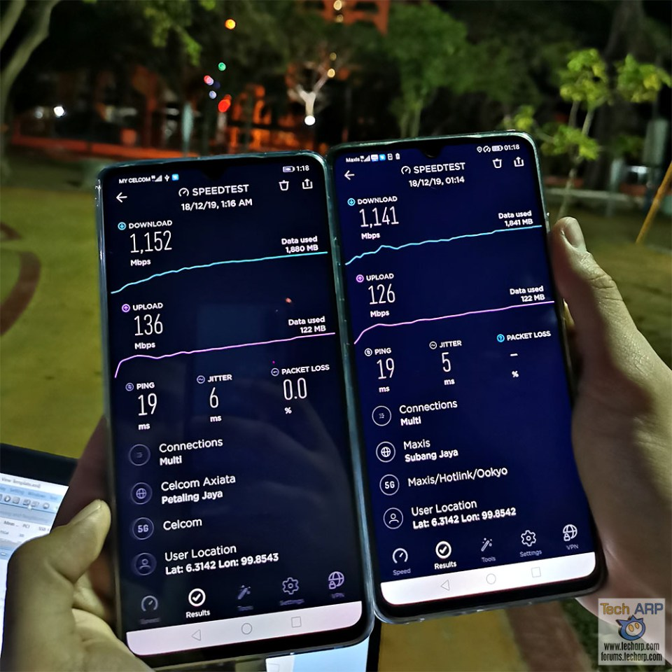 Celcom + Maxis : First 5G Network Sharing Trial Succeeds!