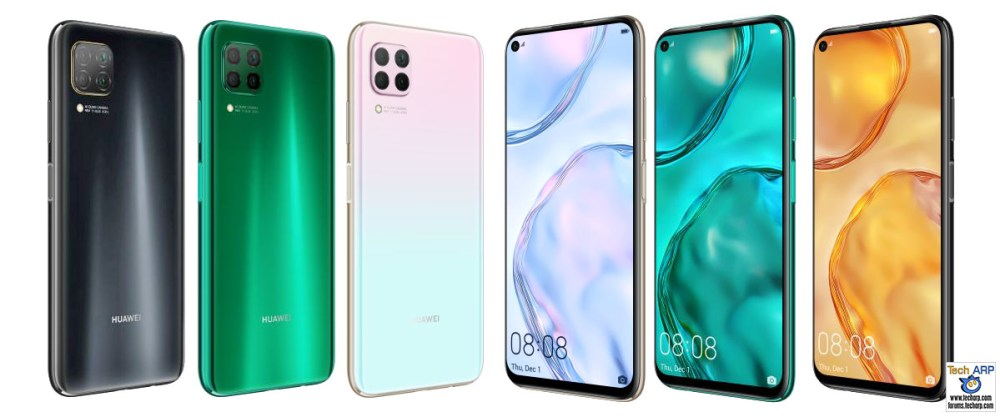 HUAWEI nova 7i colour options
