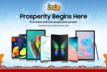 Samsung CNY 2020 Mega Giveaway : Here Are The Details!