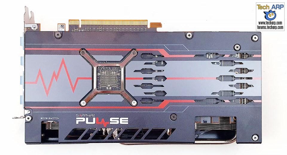 Sapphire PULSE RX 5600 XT back